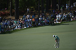 AUGUSTA, GA - APRIL 13: Fred Couples hits off the fairway during the Third Round of the 2013 Masters Golf Tournament at Augusta National Golf Club on April 13, 2013 in Augusta, Georgia. (Photo by Donald Miralle) *** Local Caption ***