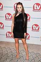 Amber Davies at the TV Choice Awards 2017 at The Dorchester Hotel, London, UK. <br /> 04 September  2017<br /> Picture: Steve Vas/Featureflash/SilverHub 0208 004 5359 sales@silverhubmedia.com