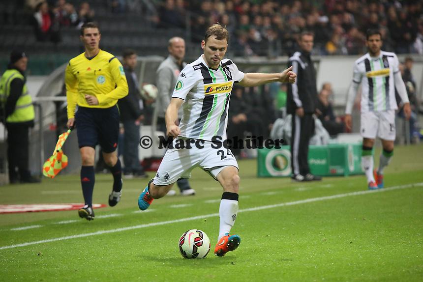 Tony Jantschke (Gladbach) - Eintracht Frankfurt vs. Borussia Mönchengladbach, DFB-Pokal 2. Runde, Commerzbank Arena