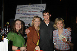 Zuzanna Szadkowski (Gossip Girl), Kelli Giddish, Jake Silberman, Amy Carlson - Stars of Daytime and Prime Time Television and Broadway bartend to benefit Stockings with Care 2011 Holiday Drive  - Celebrity Bartending Event with Silent Auction & Raffle on November 16, 2011 at the Hudson Station Bar & Grill, New York City, New York. For more information - www.stockingswithcare.org.  (Photo by Sue Coflin/Max Photos)