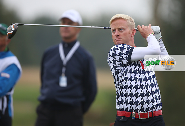 Simon Dyson (ENG) peaked at the right time during the Final Round missing out on the play-offs by just one shot at the BMW International Open 2014 from Golf Club Gut Lärchenhof, Pulheim, Köln, Germany. Picture:  David Lloyd / www.golffile.ie
