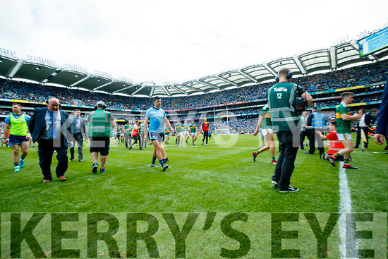 after the GAA Football All-Ireland Senior Championship Final match between Kerry and Dublin at Croke Park in Dublin on Sunday.