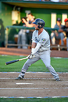 Northwest League All-Star Eric Filia (2) of the Everett AquaSox at bat against the Pioneer League All-Stars at the 2nd Annual Northwest League-Pioneer League All-Star Game at Lindquist Field on August 2, 2016 in Ogden, Utah. The Northwest League defeated the Pioneer League 11-5.  (Stephen Smith/Four Seam Images)