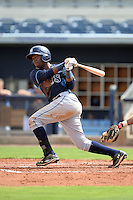 Tampa Bay Rays third baseman Cristian Toribio (70) during an Instructional League game against the Minnesota Twins on September 16, 2014 at Charlotte Sports Park in Port Charlotte, Florida.  (Mike Janes/Four Seam Images)