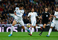 Real Madrid's Jesus Vallejo and UD Las Palmas'  during La Liga match. November 5,2017. (ALTERPHOTOS/Inma Garcia)