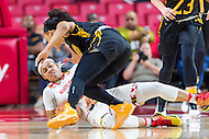 College Park, MD - DEC 6, 2016: Maryland Terrapins guard Blair Watson (22) fights for a loose ball during game between Towson and Maryland at XFINITY Center in College Park, MD. The Terps defeated the Tigers 97-63. (Photo by Phil Peters/Media Images International)