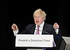 Boris Johnson and the London Assembly participate in People's Question Time in Haringey on 19th March 2015 at the Dominion Centre,  Wood Green, London, Great Britain.<br /> <br /> Photograph by Elliott Franks <br /> <br /> <br /> Image licensed to Elliott Franks Photography Services