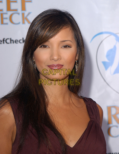 KELLY HU.The Reef Rescue 2004 Benefit for The Reef Check Foundation held at The Victorian in Santa Monica, California.September 30, 2004.headshot, portrait.www.capitalpictures.com.sales@capitalpictures.com.Copyright by Debbie VanStory
