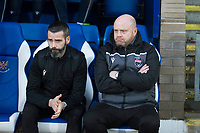 29th December 2019; McDairmid Park, Perth, Perth and Kinross, Scotland; Scottish Premiership Football, St Johnstone versus Ross County; Ross County co-managers Steven Ferguson and Stuart Kettlewell  - Editorial Use