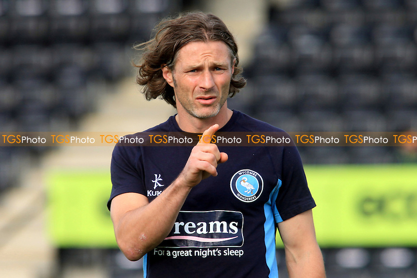 Gareth Ainsworth, Wycombe's player/coach - Forest Green Rovers vs Wycombe Wanderers - Friendly Football Match at the The New Lawn, Nailsworth, Gloucestershire - 18/07/12 - MANDATORY CREDIT: Paul Dennis/TGSPHOTO - Self billing applies where appropriate - 0845 094 6026 - contact@tgsphoto.co.uk - NO UNPAID USE.