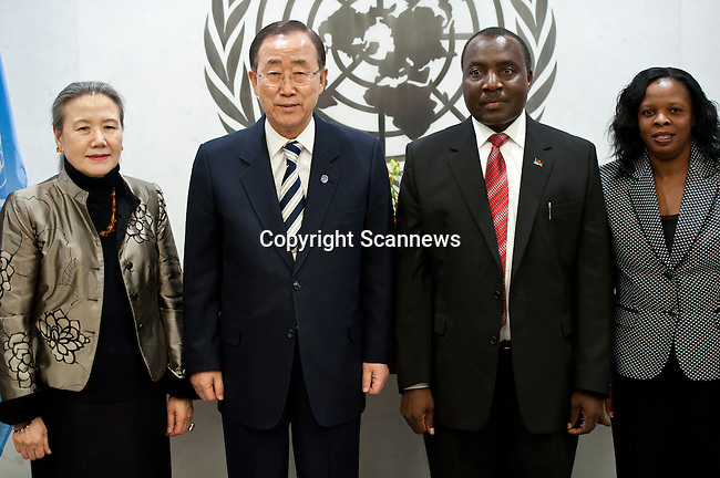 The Secretary-General will receive credentials from the following new Permanent Representative to the United Nations:..- H.E. Mr. Charles P. Msosa, Malawi.