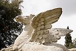 Statue of Pegasus, Tivoli Gardens, Lazio, Italy