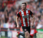 Jack O'Connell of Sheffield Utd during the championship match at the Bramall Lane Stadium, Sheffield. Picture date 14th April 2018. Picture credit should read: Simon Bellis/Sportimage