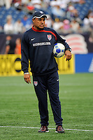 United States (USA) goalkeeper coach Zak Abdel. The United States and Haiti played to a 2-2 tie during a CONCACAF Gold Cup Group B group stage match at Gillette Stadium in Foxborough, MA, on July 11, 2009. .