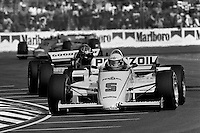 MIAMI, FL - NOVEMBER 9: Al Unser drives his  March 85C/Cosworth during the Beatrice Indy Challenge CART IndyCar race on the temporary street circuit in Tamiami Park in Miami, Florida, on November 9, 1985.