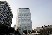 Una veduta del Grattacielo Pirelli, a Milano.<br /> The Pirelli Tower skyscraper, also called Pirellone, in Milan.<br /> UPDATE IMAGES PRESS/Riccardo De Luca