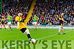 Shane Murphy Dr Crokes in action against  South Kerry in the Senior County Football Final in Austin Stack Park on Sunday