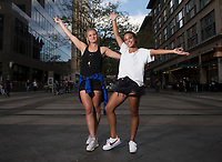 Denver, CO - September 12, 2017: Members of the USWNT walked around Denver before their friendly against New Zealand.