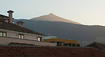 Puerto de la Cruz, Tenerife, Spain; December 28, 2012 -- El Pico del Teide (Mount Teide is a volcano and with its 3,718-metre summit the highest point in Spain) -- Photo: © HorstWagner.eu