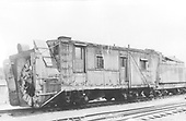 3/4 front view of Rotary OM plow.<br /> D&amp;RGW  Chama, NM