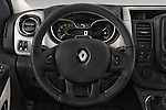 Car pictures of steering wheel view of a 2015 Renault Trafic Luxe 5 Door Van
