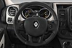 Car pictures of steering wheel view of a 2015 Renault Trafic Luxe 5 Door Van