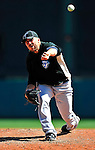 13 March 2010: Toronto Blue Jays' pitcher Dana Eveland on the mound during a Spring Training game against the Atlanta Braves at Champion Stadium in the ESPN Wide World of Sports Complex in Orlando, Florida. The Blue Jays shut out the Braves 3-0 in Grapefruit League action. Mandatory Credit: Ed Wolfstein Photo