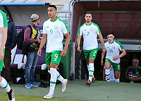 Adam Idah of Republic of Ireland walks onto the pitch ahead of kick-off during Republic Of Ireland Under-21 vs Mexico Under-21, Tournoi Maurice Revello Football at Stade Parsemain on 6th June 2019