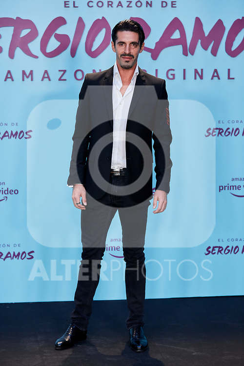"Alejandro Talavante attends to ""El Corazon De Sergio Ramos"" premiere at Reina Sofia Museum in Madrid, Spain. September 10, 2019. (ALTERPHOTOS/A. Perez Meca)"