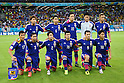 Japan team group line-up (JPN), <br /> JUNE 14, 2014 - Football /Soccer : <br /> 2014 FIFA World Cup Brazil <br /> Group Match -Group C- <br /> between Cote d'Ivoire 2-1 Japan <br /> at Arena Pernambuco, Recife, Brazil. <br /> (Photo by YUTAKA/AFLO SPORT) [1040]