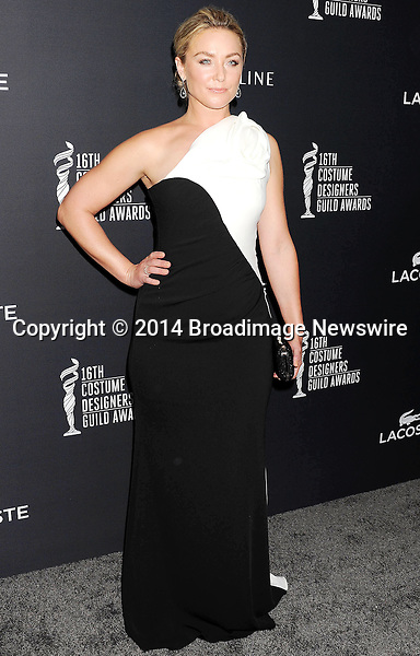 Pictured: Elisabeth Rohm<br /> Mandatory Credit &copy; Joseph Gotfriedy/Broadimage<br /> 16th Costume Designers Guild Awards - Arrivals<br /> <br /> 2/22/14, Beverly Hills, California, United States of America<br /> <br /> Broadimage Newswire<br /> Los Angeles 1+  (310) 301-1027<br /> New York      1+  (646) 827-9134<br /> sales@broadimage.com<br /> http://www.broadimage.com
