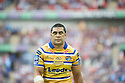 Rugby League Challenge Cup final.Leeds Kylie Leuluai looks sick as his team is hammered...Picture by Gavin Rodgers/ Pixel 07917221968