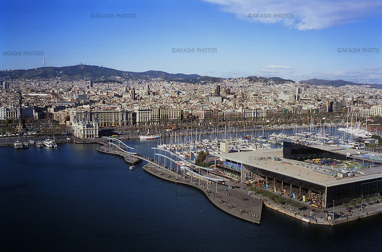 Barcelona Harbor...January 6, 2003