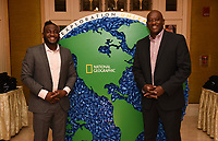 PASADENA, CA - JANUARY 17: (L-R) Critter Fixers: Country Vets Dr. Vernard L. Hodges and Dr. Terrence Ferguson attend the National Geographic 2020 TCA Winter Press Tour Party at the Langham Huntington on January 17, 2020 in Pasadena, California. (Photo by Frank Micelotta/National Geographic/PictureGroup)