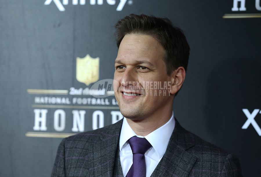 Feb. 2, 2013; New Orleans, LA, USA: Josh Charles the actor on the red carpet prior to the Super Bowl XLVII NFL Honors award show at Mahalia Jackson Theater. Mandatory Credit: Mark J. Rebilas-USA TODAY Sports