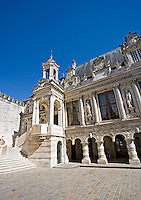 Town hall in the the old part of the city of La Rochelle Charente-Maritime France