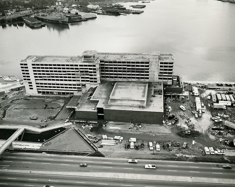 UNDATED..Redevelopment.Downtown South (R-9)..Waterside Drive.Omni Hotel construction...NEG#..