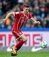 01-10-2017 Football Calcio Bundeslica <br /> Herta Berlino Bayern Monaco <br /> Robert Lewandowski <br /> Foto imago/photoarena/Eisenhuth/Insidefoto