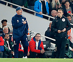 West Brom's Tony Pulis argues after the award of Arsenal's opening goal during the premier league match at the Emirates Stadium, London. Picture date 25th September 2017. Picture credit should read: David Klein/Sportimage