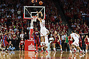November 17, 2013: Walter Pitchford (35) of the Nebraska Cornhuskers makes the opening score with a three pointer against the South Carolina State Bulldogs at the Pinnacle Bank Areana, Lincoln, NE. Nebraska defeated South Carolina State 83 to 57.