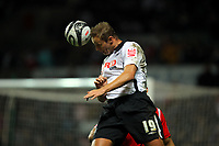 ATTENTION SPORTS PICTURE DESK<br /> Pictured: Lee Trundle of Swansea City in action <br /> Re: Coca Cola Championship, Swansea City Football Club v Nottingham Forest at the Liberty Stadium, Swansea, south Wales. Saturday 12 December 2009