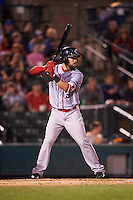 Syracuse Chiefs shortstop Jason Martinson (5) at bat during a game against the Rochester Red Wings on July 1, 2016 at Frontier Field in Rochester, New York.  Rochester defeated Syracuse 5-3.  (Mike Janes/Four Seam Images)