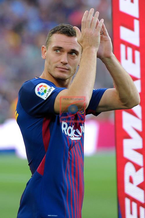 52e Trofeu Joan Gamper.<br /> FC Barcelona vs Chapecoense: 5-0.<br /> Vermaelen.