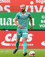 KORTRIJK , BELGIUM - AUGUST 03 : Dorian Dessoleil of Charleroi pictured during the Jupiler Pro League match day 2 between Kv Kortrijk and Sporting Charleroi on August 03 , 2019 in Kortrijk , Belgium . ( Photo by David Catry / Isosport )