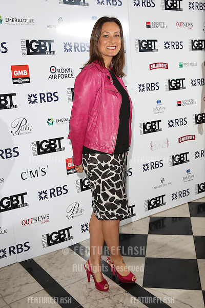 Luisa Bradshaw-White at The British LGBT Awards at the Grand Connaught Rooms, London.<br /> May 13, 2016  London, UK<br /> Picture: James Smith / Featureflash