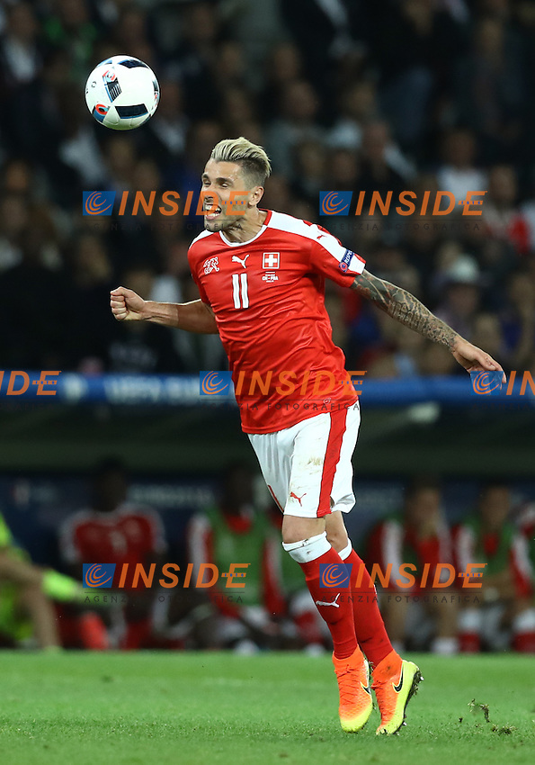 Valon Behrami Switzerland<br /> Lille 19-06-2016 Stade Pierre Mauroy Footballl Euro2016 Switzerland - France  / Svizzera - Francia Group Stage Group A. Foto Matteo Ciambelli / Insidefoto