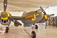Lockheed P-38 Lightning. Tillamook Air Museum
