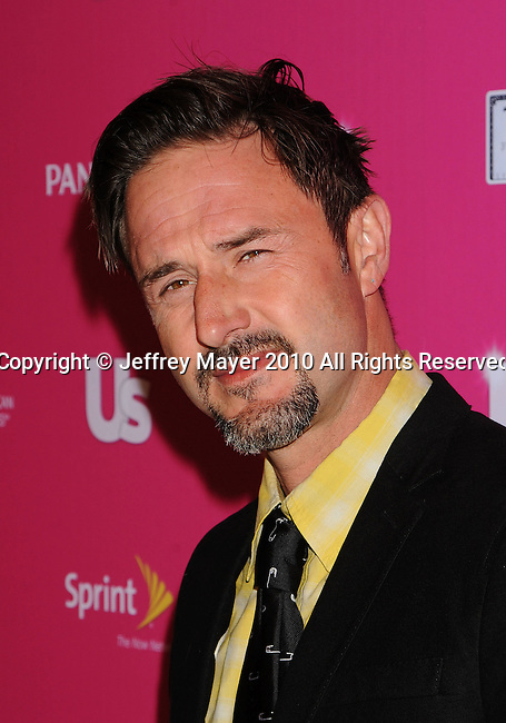 "HOLLYWOOD, CA. - November 18: David Arquette arrives at US Weekly's Hot Hollywood ""Stars Who Care"" Event at The Colony on November 18, 2010 in Los Angeles, California."