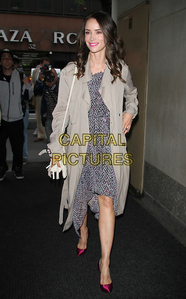 NEW YORK, NY - JUNE 12: Abigail Spencer at NBC's Today Show in New York City on June 12, 2014. <br /> CAP/MPI/RW<br /> &copy;RW/ MediaPunch/Capital Pictures