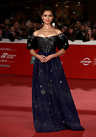 "L'attrice britannica Gugu Mbattha-Raw posa durante il red carpet per la presentazione del film ""Motherless Brooklyn"" alla 14^ Festa del Cinema di Roma all'Aufditorium Parco della Musica di Roma, 17 ottobre 2019.<br /> British actress Gugu Mbattha-Raw poses during the red carpetl to present the movie ""Motherless Brooklyn"" during the 14^ Rome Film Fest at Rome's Auditorium, on 17 october 2019.<br /> UPDATE IMAGES PRESS/Isabella Bonotto"
